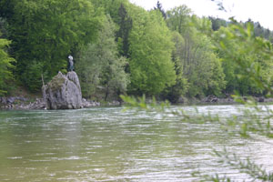 Isar am Georgenstein